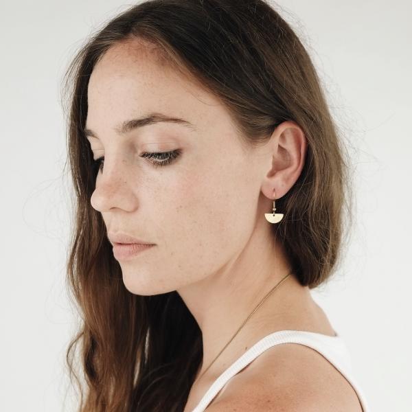 Halbkreis Ohrhänger